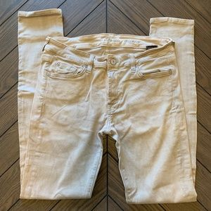 7 For All Mankind Skinny Stretch pants Tan